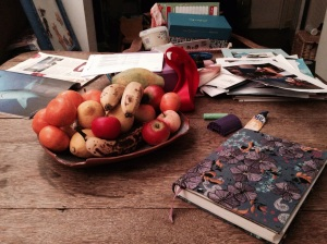The recipe bible, the fruit bowl, fabric glue, Times Travel, unused star chart and more...