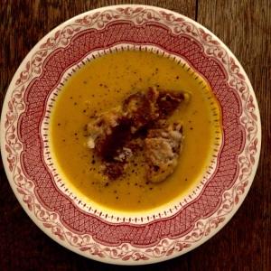 Pumpkin Soup... Happy Halloween!