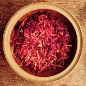 A Naked Winter Slaw