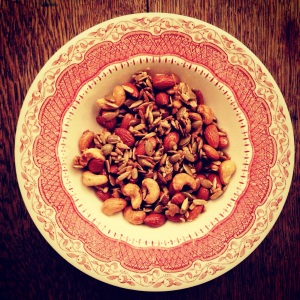 Salty & Sweet... Hot Maple Roast Nuts