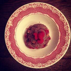 Raspberry & Cacao Chia BreakfastPudding