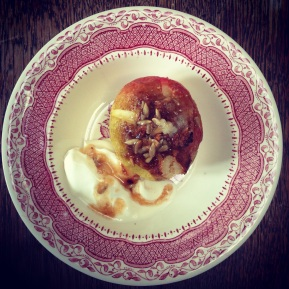Baked Apples… A Little Throwback to myChildhood