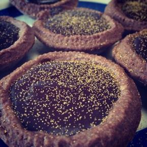 Rich Chocolate, CardamomTarts