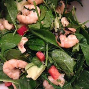 Thai Green Salad & Prawns