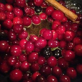 Cranberry, Orange and CinnamonCompote