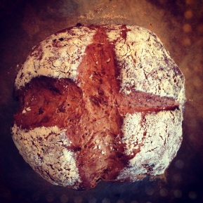 Spelt Flour Soda Bread & Big Love For an Irish Farmer…
