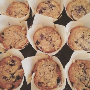 Blackberry Breakfast Muffins & Recipe Share