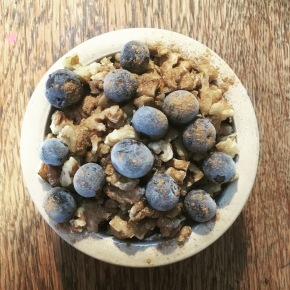 Colon Cancer, SIBO & Blueberry Breakfast Crumble