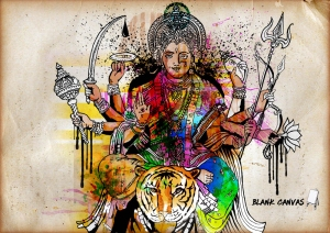 Durga-blank-canvas
