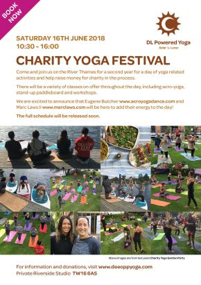 Charity Yoga Festival2018