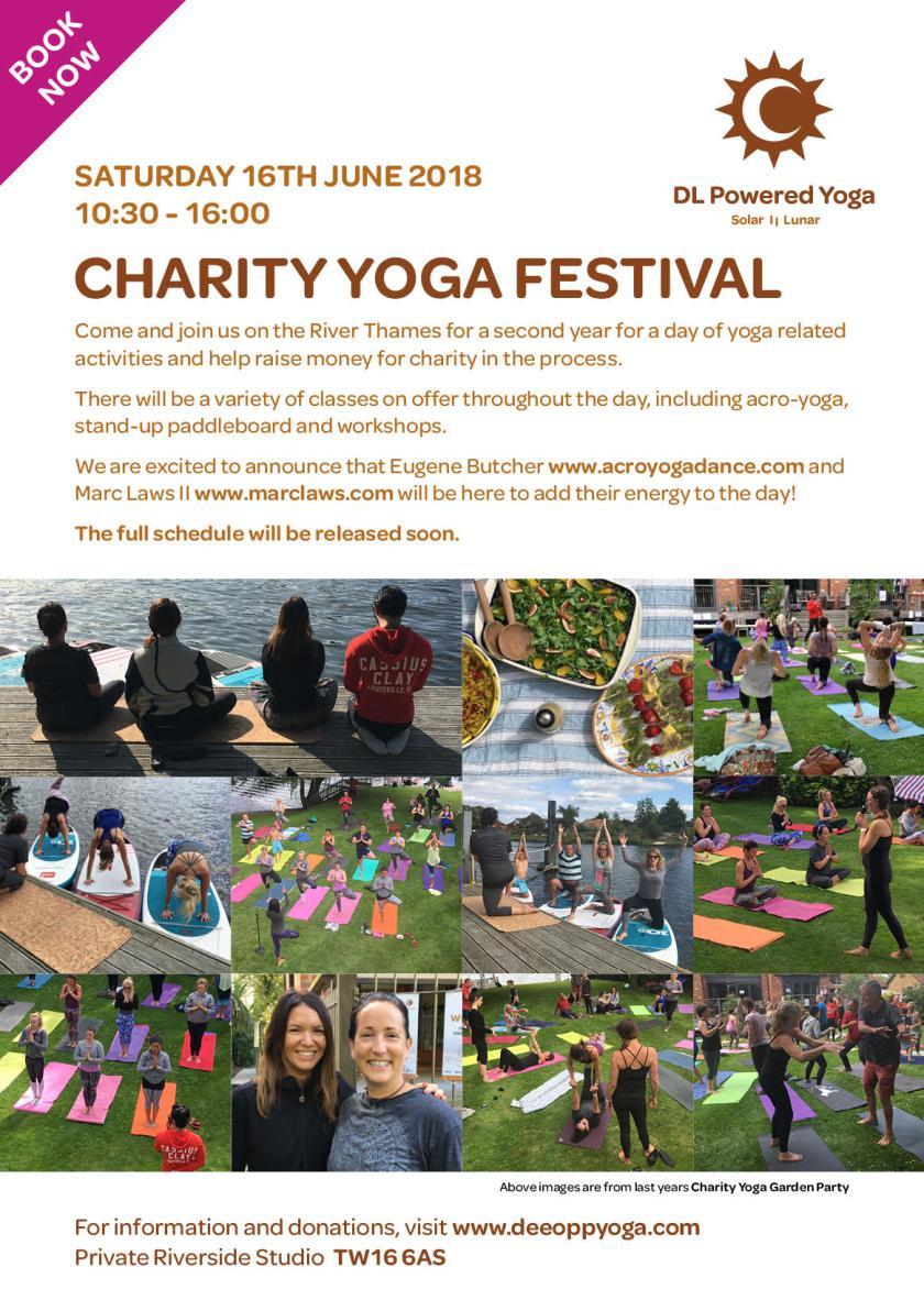 Charity Yoga Festival 2018